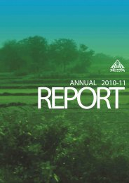 Annual Report 2010 - 11 - Nagarjuna Fertilizers