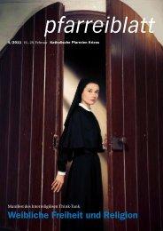 Glauben und Wissen verhalten sich - Katholische Kirchgemeinde ...
