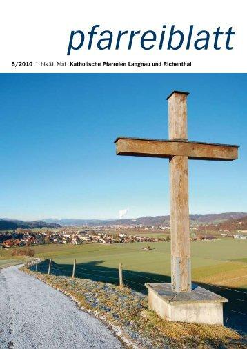 Jesus, du bist unser guter Freund. - Gemeinde Richenthal