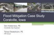 Flood Mitigation Case Study Coralville, Iowa