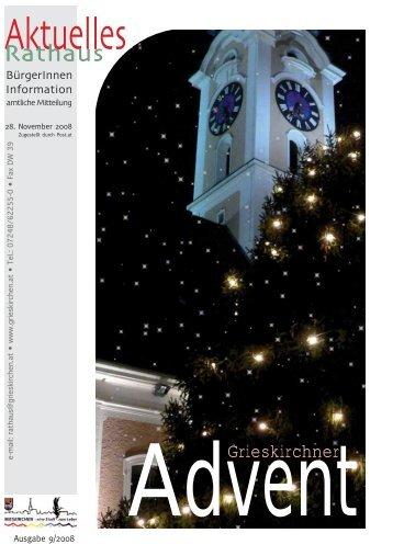 Aktuelles Rathaus 2008/09 (1,27 MB) - Grieskirchen