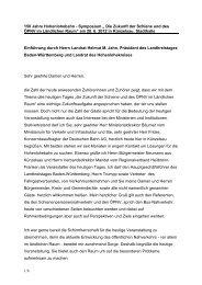 """1/6 150 Jahre Hohenlohebahn - Symposium """" Die Zukunft der ..."""