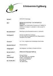 Wander_Plak Kyll2 - Eifelverein