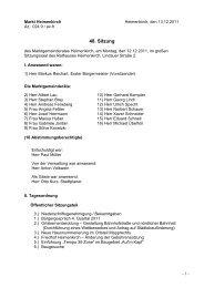 48. Sitzung - 12.12.2011 - Heimenkirch