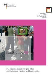 ( Hrsg. ): stadt:pilot 02 - Nationale Stadtentwicklungspolitik