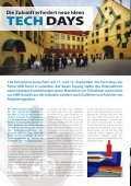 130 Teilnehmer besuchten am 11. und 12. September die Tech ... - Seite 2