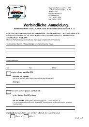 Verbindliche Anmeldung - Gewerbeverein Reinheim