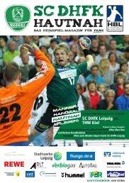 Im Löwen- Center in Leipzig- Burghausen - SC DHfK Handball