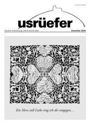 4. Ausgabe Dezember [PDF, 912 KB] - Staufen