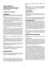 Internationale H-Boot Klassenregeln - Die Schweizerische H-Boot ...