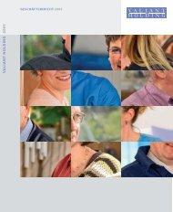 Geschäftsbericht 2005 (PDF, 1451.7 KB) - Valiant Bank