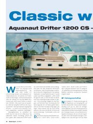 w ith Style – Luxus als Serie - Aquanaut Yachting Holland