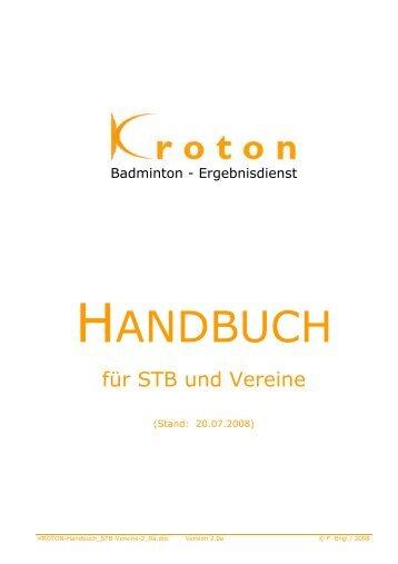 Kroton-Handbuch - (BLV-NRW) www