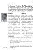 Haftung des Vorstands der Privatstiftung - KWR - Seite 2