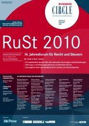 RuSt 2010 - bpv Hügel Rechtsanwälte