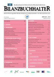 böb journal 45 - Bundesverband der Österreichischen ...