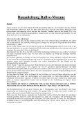 Bauanleitung Rallye - Morane - Fliegerland - Seite 3