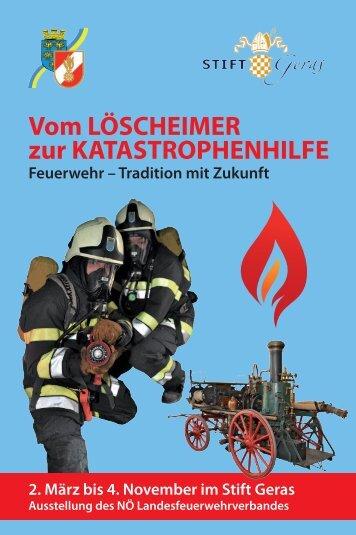 Vom LÖSCHEIMER zur KATASTROPHENHILFE - AFK Hollabrunn