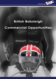 click here to download the UK Sport Funding - British Bobsleigh