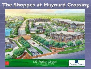 View the presentation slides. - Town of Maynard, Massachusetts