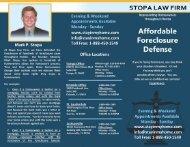 Download Brochure - Stopa Law Firm Florida Foreclosure Defense ...