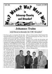 Juli 2005 - Wann? Wo? Wer? Wie? in Schnarup-Thumby