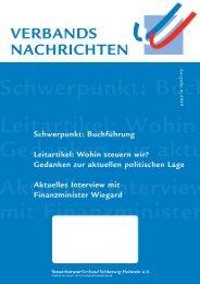 BeraterRat - Steuerberaterverband Schleswig-Holstein e.V.