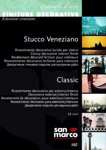 Stucco Veneziano - Decorative finishes