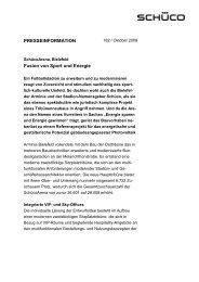 [PDF] Pressemitteilung :Fusion von Sport und Energie - PresseBox