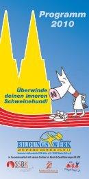 BW Programm 2010 - Sportbildungswerk.de