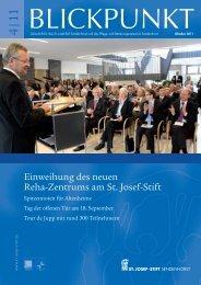 Blickpunkt 4/11 - St. Josef-Stift Sendenhorst