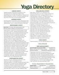 Yoga Directory - Yoga Living Magazine