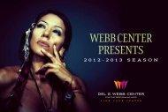 Online Brochure - Del E Webb Center   For The Performing Arts
