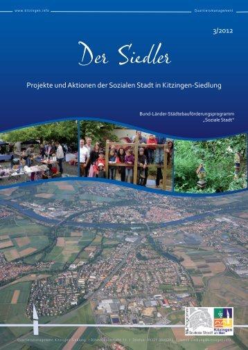 """Der Siedler"" Ausgabe 03/2012 - Kitzingen.info: Home"
