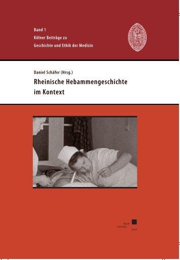 Rheinische Hebammengeschichte im Kontext