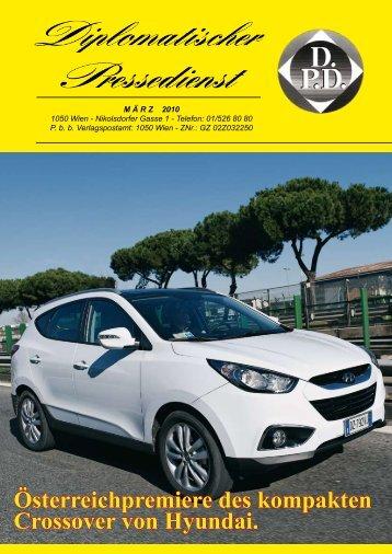 Österreichpremiere des kompakten Crossover von Hyundai.