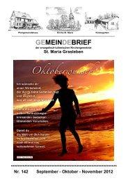 GEMEINDEBRIEF - St.Maria zu Grasleben