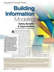 BIM Trade-Specific Safety Intervention Opportunities - American ...