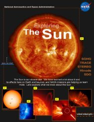 Space Weather from the Sun - SoHO - NASA