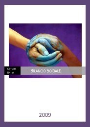 Struttura del Bilancio Sociale - Ratio