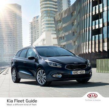Download Kia Fleet Guide (PDF, 6.9 MB)