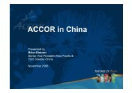 ACCOR in China