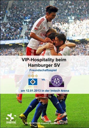 HSV vs. FK Austria Wien Loge (12 / 24 Personen)
