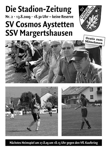 9.8.09 sv schwabegg - SV Cosmos Aystetten