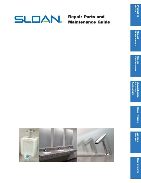 Repair Parts and Maintenance Guide | Sloan - Sloan Valve Company on