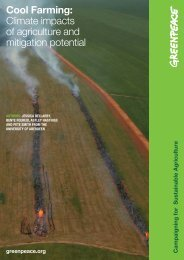 Cool Farming: Climate impacts of agriculture and mitigation potential