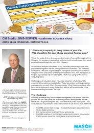CM Studio DMS-SERVER - Arne Jenn Finanzkonzepte e.K. ...