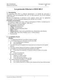 Les protocoles Ethernet et IEEE 802.3 - MultiMania