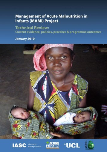 Management of Acute Malnutrition in Infants (MAMI ... - ReliefWeb