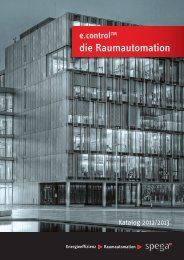 e.control Katalog 2012 - spega.de